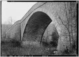 Casselman River Bridge, National Road (U.S. Route 40) at Little Crossings, Grantsville, Garrett County, MD, 1933